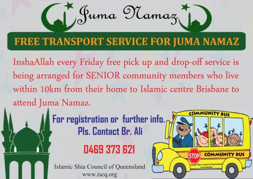 Free Transport Juma Namaz1